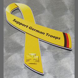 "(Auto-)Magnet ""Support German Troops"", mittel"